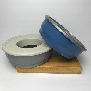 Top Paw No-Spill Plastic Bowls 48oz (set of 2)